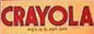 Crayola 1930 to 1934 logo