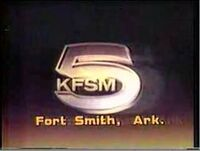 KFSM-TV's Great Moments On Channel 5 Video ID From Late 1982