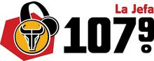 KFZO La Jefa 107.9 logo