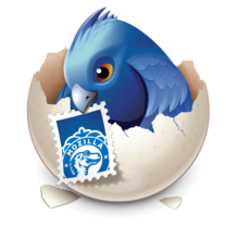 Thunderbird-earlybird logo