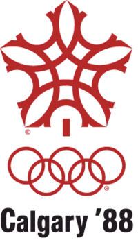 1988 wolympics logo