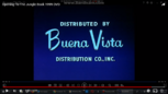 Buena Vista Jungle Book Original