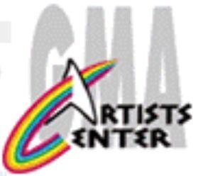 GMA Artist Center 1995 logo