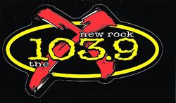 New Rock 103.9 The X WXEG