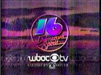 WBOC-TV 1986 Share The Spirit of CBS