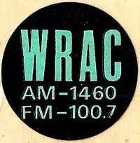 WRAC 1460 AM 100.7 FM