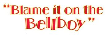 Blame it on the Bellboy movie logo