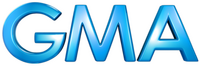 GMA Wordmark Logo 2011-Present