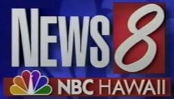 KHNL (NBC Hawaii News 8) logo
