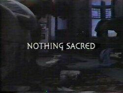 Nothingsacred