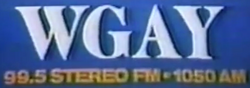 WGAY FM Washington 1978