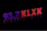 KLXK logo-937-VHS
