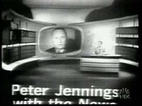 Peter Jennings with the News