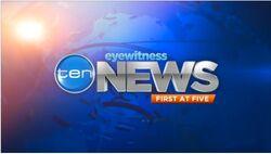 Ten Eyewitness News on-screen