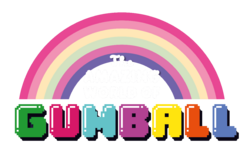 The Amazing world of Gumball logo bg1