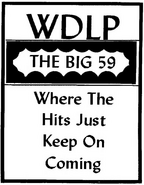 WDLP - The Big 59 -January 9, 1972-