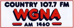 WGNA 107.7 FM 1460 AM