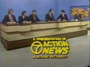 WXYZ-TV News Close 1972