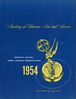7th Primetime Emmy Awards poster