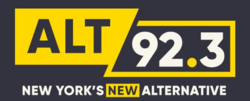 Alt 92.3 FM logo