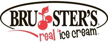 Brusters ice cream logo