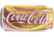 Decaffeineted Coca Cola Can 2002