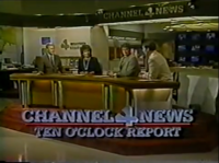 KDFW Channel 4 News 10PM open - 1984