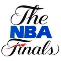 NBA Finals 80s 90s logo