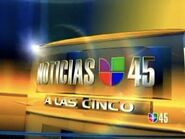 Kxln noticias univision 45 5pm package 2006