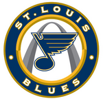 St. Louis Blues logo (jersey, introduced 2008)