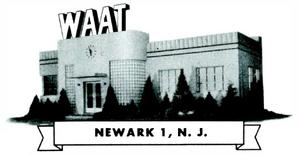 WAAT - 1940s -January 8, 1946-