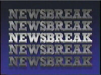CBS Newsbreak 1986