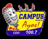 Campus Radio 100.7 Cagayan de Oro Logo 2008