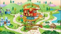 Daniel Tiger's Neighborhood Title Card