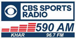 KHAR CBS Sports 590 AM 96.7 FM