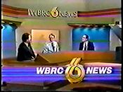 WBRC-TV's BRC-6 News video opening from 1985