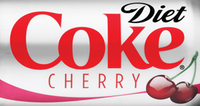 Diet Coke CHerry Logo