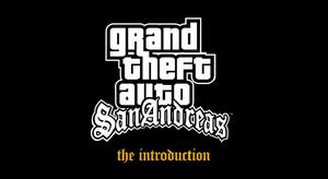 Gta sa introduction logo