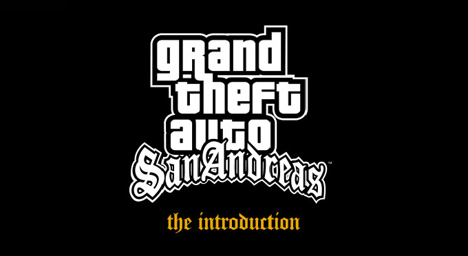 gta san andreas introduction logo ile ilgili görsel sonucu