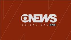 Jornal GloboNews - Edição das 17h 2017