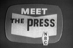 Meet the Press - NBC 1962