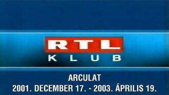 RTL Klub arculat - 2001-2003