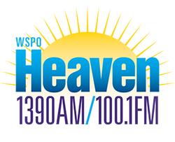 WSPO Heaven 1390 AM 100.1 FM