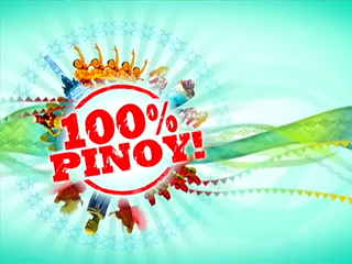 100% Pinoy! logo