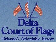 Court of Flags 1990s logo
