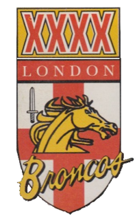 London Broncos 1994 logo