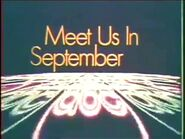 Meet Us In September ABC promo from Fall 1969