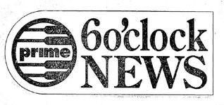 Prime 6 o' Clock News logo