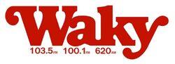 WAKY FM 103.5 100.1 AM 620
