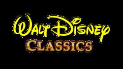Walt Disney Classics 1991-1997 Print Logo